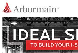 image of Arbormain logo on website