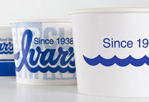 image of Ivar's chowder cups