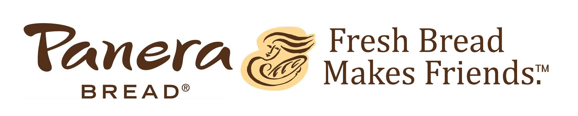image of Panera Bread logo and motto