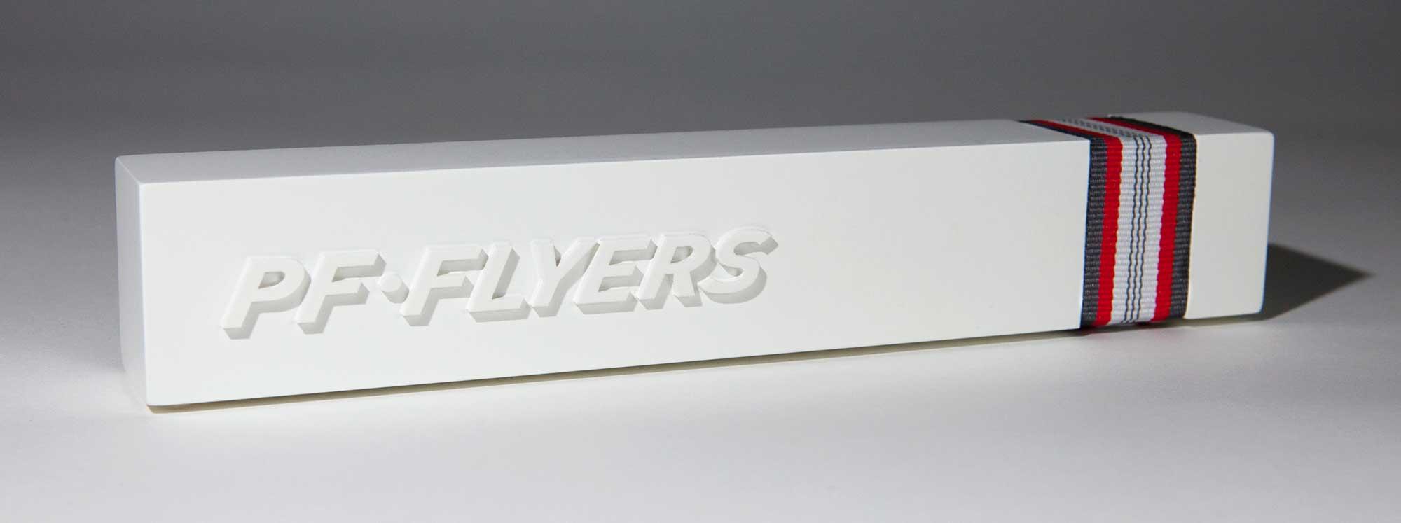 image of PF Flyers shoe display block