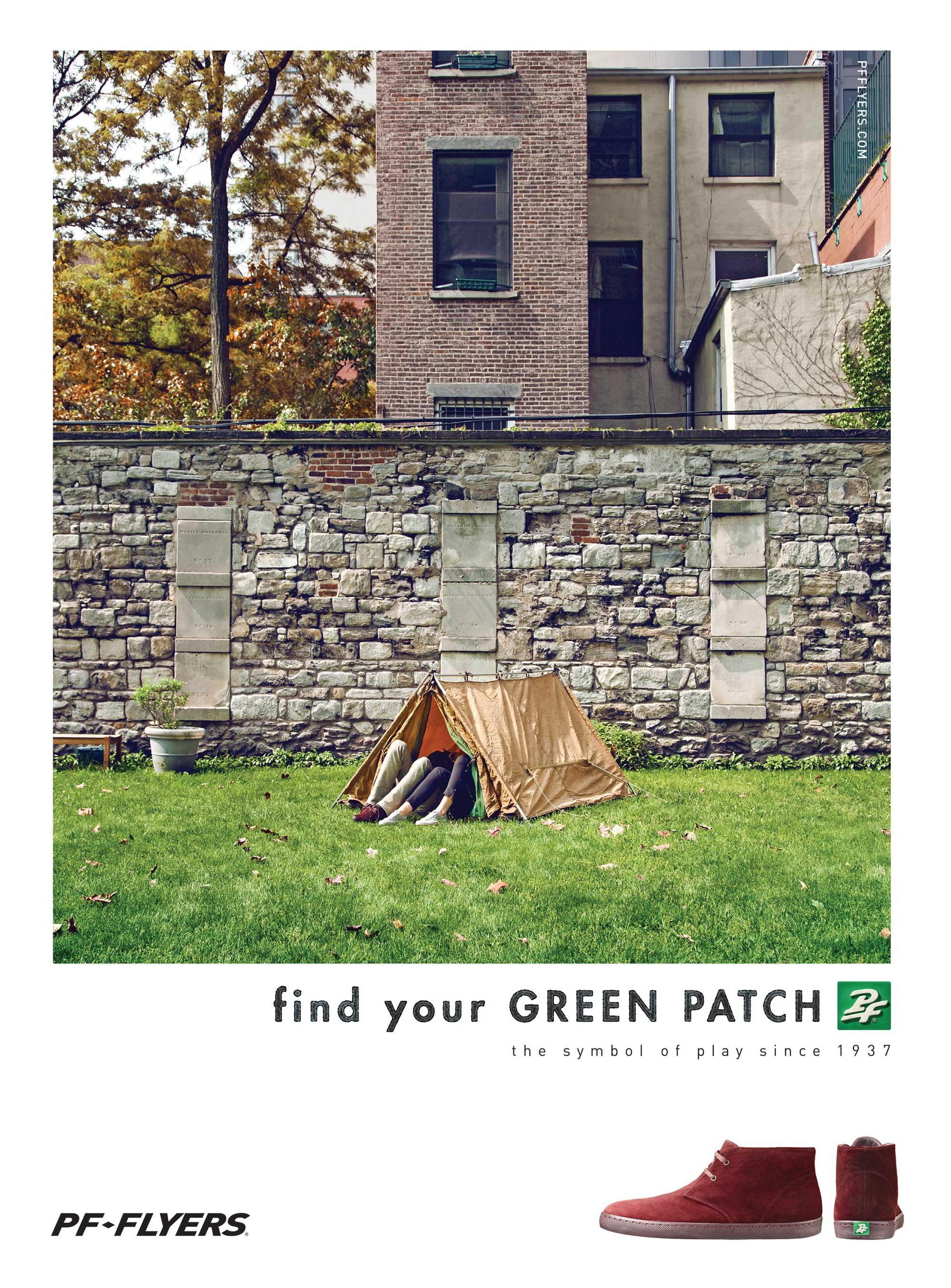 PF Flyers print ad