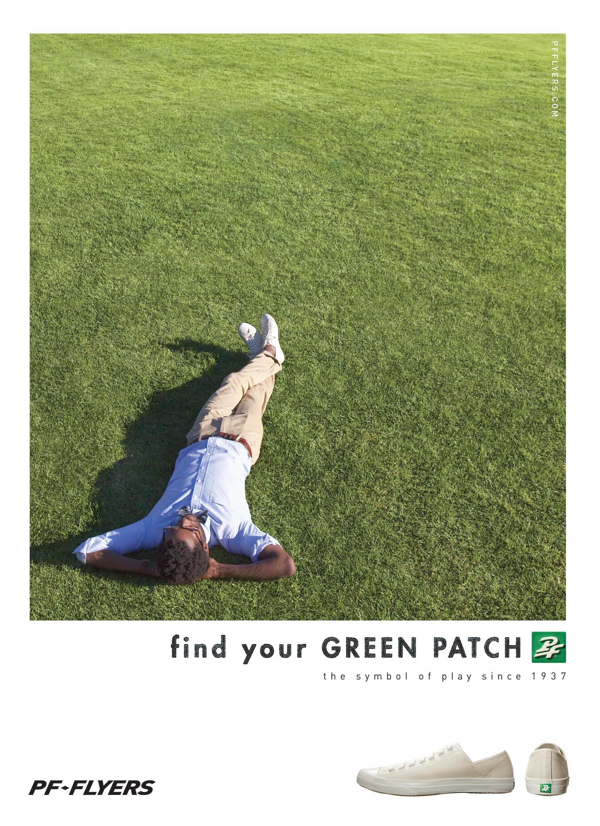 image of PF Flyers print ad
