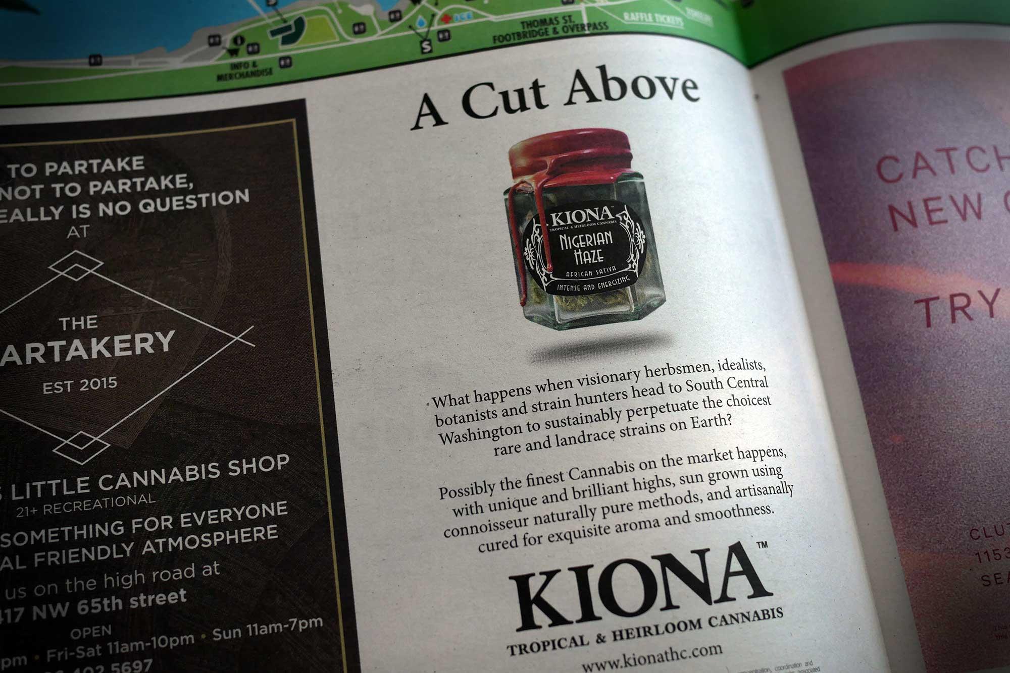 image of Kiona magazine ad