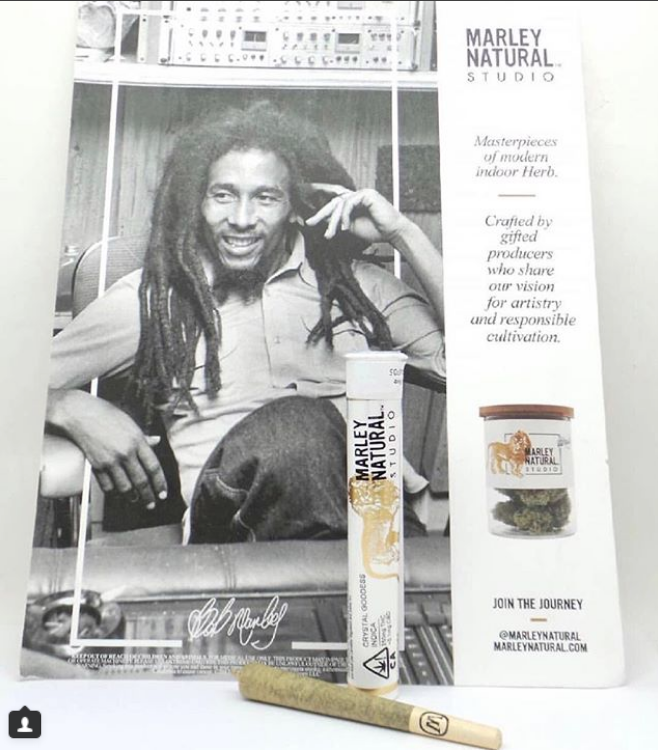 image of Marley Naturals advertisement